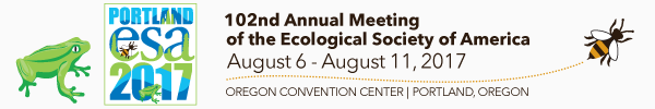 2017 ESA Annual Meeting (August 6 -- 11)