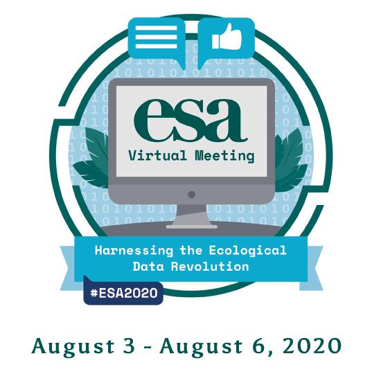 2020 ESA Annual Meeting (August 3 - 6)
